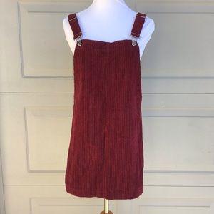 Forever 21 Dress Jumper Red